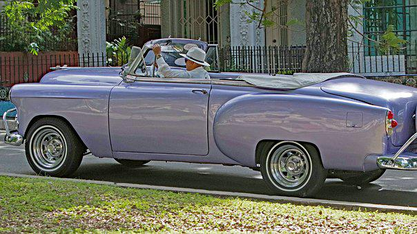 Cuba, Havana, Almendron, Car, Transportation System