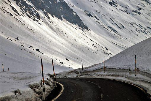 The Alps, High, Snow, Mountain, At The Court Of, Travel