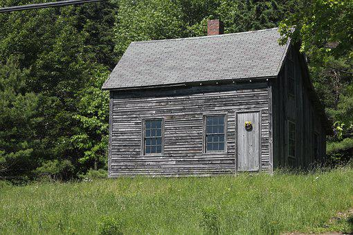 Barn, Wood, House, Wooden, Grass, Rural, Old, Building