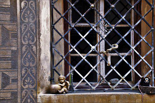 Iron, Old, Architecture, The Door, Lake Dusia, Model