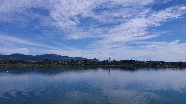Waters, Panoramic, Lake, Landscape, Nature, Environment