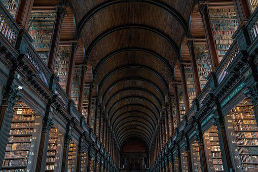 Library, Architecture, Travel, Building, Old, Urban