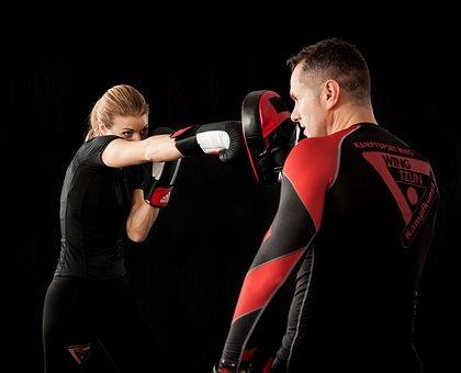 Women, Box, Boxer, Fight, Martial Arts, Street Fight