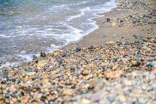 Sea, Coast, Beach, Natural, Waters, Sand, Stone, Wave