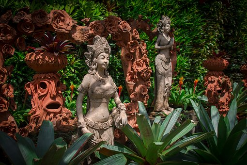 Nature, Sculpture, Garden, Plant
