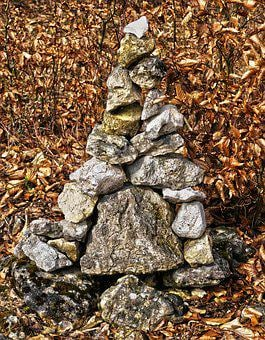 Stone, Pyramid, Stacked, Feng Shui, Harmony, Nature