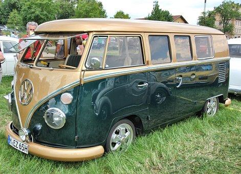 Auto, Vehicle, Transport System, Wheel, Bus, Nostalgia