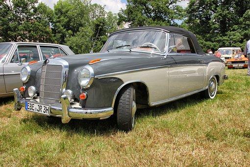 Auto, Vehicle, Transport System, Oldtimer, Mercedes