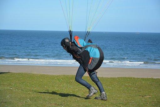 Paragliding, Harness Seat Paragliding, Paraglider