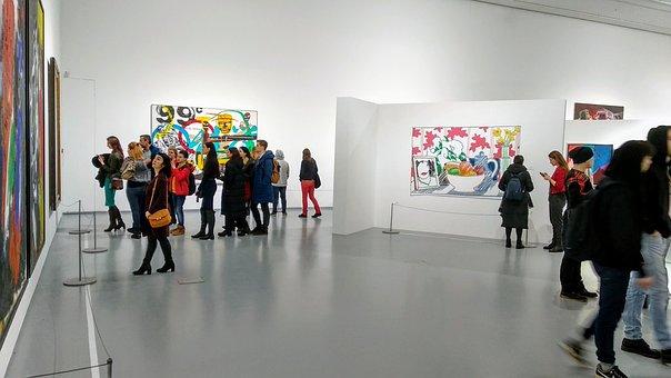 Exhibition, People