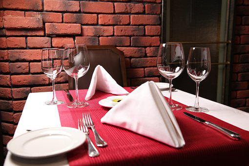 Wine, Table, Luxury, Dining, Wineglass, Restaurant