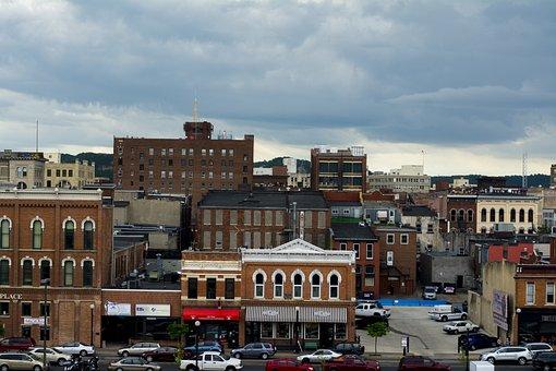 City, Architecture, Travel, Town, Cityscape, Lacrosse