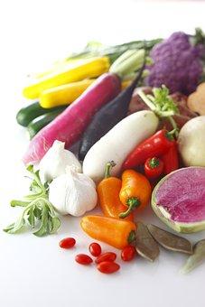 Food, Cucumber, Healthy, Vegetable, Pepper, Onion