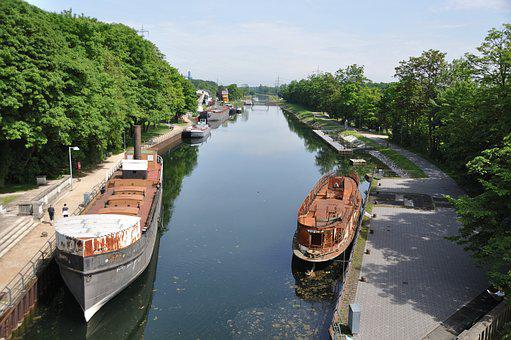 Waters, River, Channel, Nature, Travel, Boot, Tourism