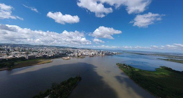 Body Of Water, Widescreen, Mar, Nature, Costa, Sky