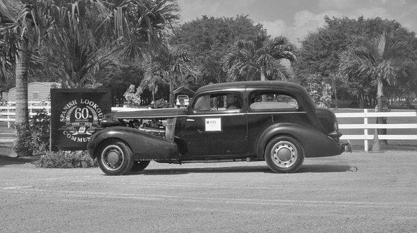 Antique, Vehicle, Car, Transportation System, Nostalgia