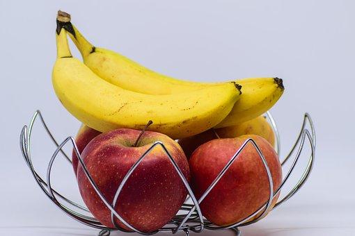 Fruit, Dessert Banana, Food, Healthy, Tropical, Apple