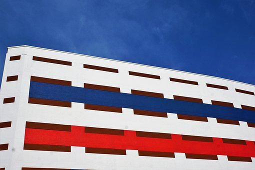 Architecture, Building, Company, Wall, Sky, Background