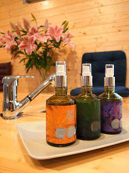 Bottle, Glass, Vegetable Oil, Aromatherapy, Perfume