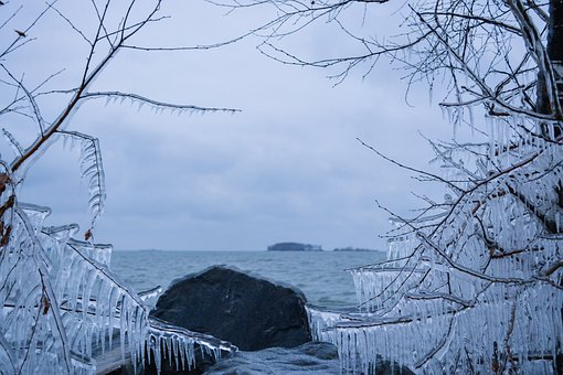 Sea, Winter, Snow, Leann, Coldly, Frozen, Frost, Nature