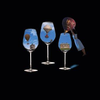 Drink, Celebration, Human, Glass, Balloon