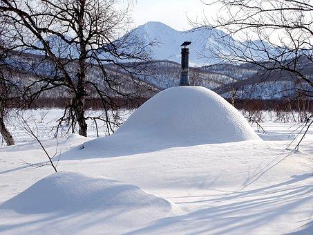 Winter Morning, Leann, Forest, Cottage, Trumpet