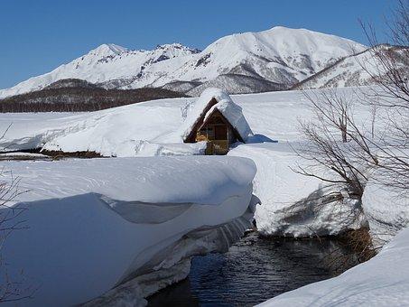 Hot Springs, Thermal Water, Creek, Bathing, Kamchatka