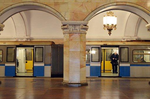 Metro, Metropolitan, Train, Moscow, Moscow Metro