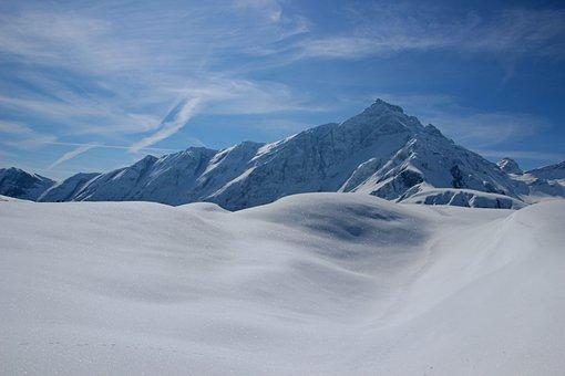 Snow, Mountain, Winter, Panorama, Cold, Mountain Summit