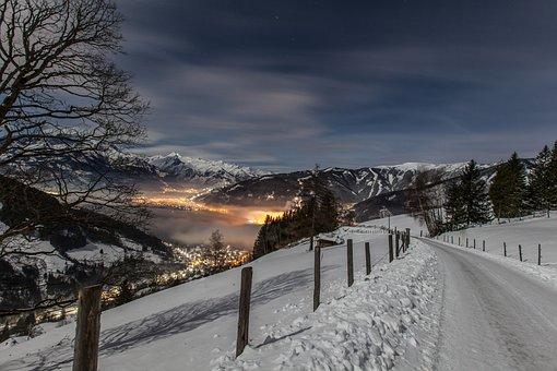 Snow, Winter, Salzburg, Pinzgau, Zell Am See, Kaprun