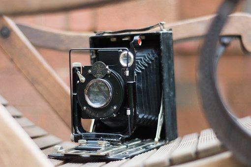 Lens, Old, Equipment, Vintage, Retro, Antique, Shutter