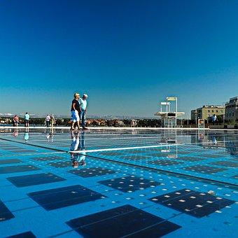 Waters, Swim, Summer, Swimming Pool, Leisure, Sky