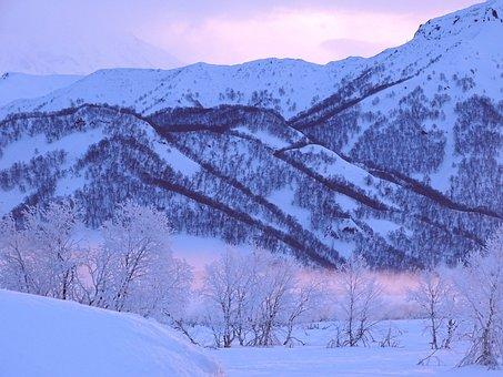 Sunrise, Dawn, Morning, Frost, Winter, Spring, Leann