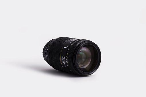 Lens, Zoom, Opening, Isolated, Technology, Team