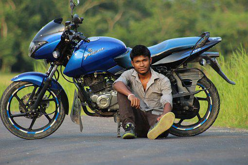 Bike, Wheel, Transportation System, Biker, Hurry