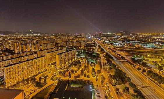 City, Traffic, Road, Travel, Urban Landscape, Barcelona
