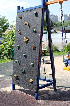 Playground, Outdoors, Travel, Rock Climber, Climbing