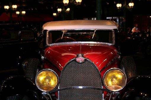 Bugatti, Automobile, Vehicle, Transport, Wheel, Chrome