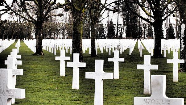 Cemetery, Cross, Grave, Tombstone, Victims, Verdun1918