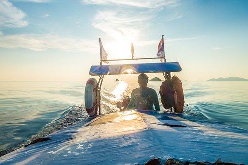 Boot, Fishing Boat, Sea, Travel, Waters, Ocean, Sky
