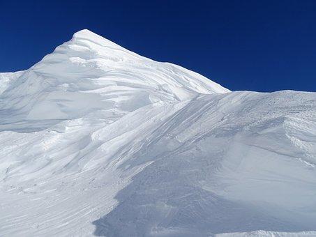 Snow, Winter, Snowdrift, Wind, Height, Landscape