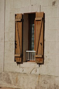 Wood, Architecture, House, Old, Window, Liège, Shutters
