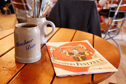 Table, Drink, Food, Wood, Restaurant, Beer Mug, Eat