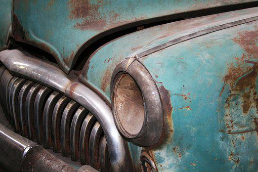 Old, Rusty, Vintage, Antique, Car, Rust, Vehicle, Art