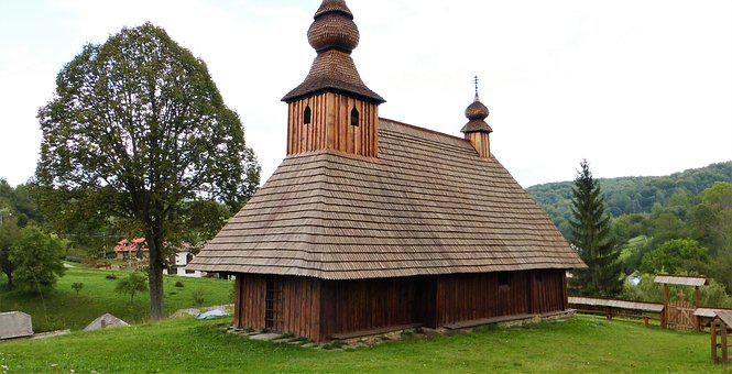 Architecture Poland, Church, Wood, House, Old, Roof