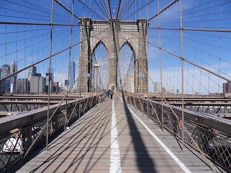 Bridge, Suspension Bridge, Steel, Architecture
