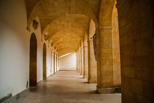 Architecture, Arcade, In, Travel, Building, Hall