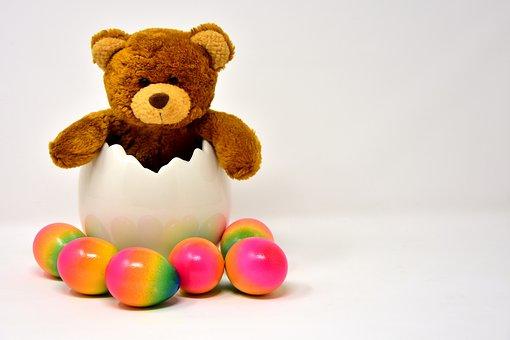 Easter Egg, Ceramic, Eggshell, Egg, Colored, Colorful