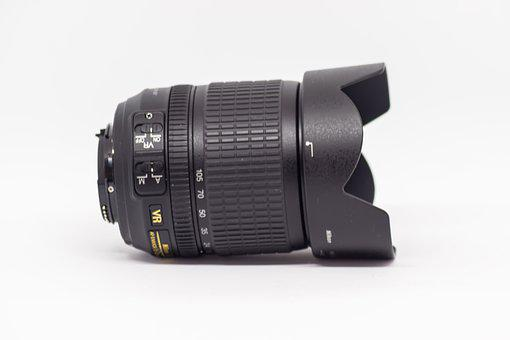 Lens, Isolated, Technology, Equipment, Aperture