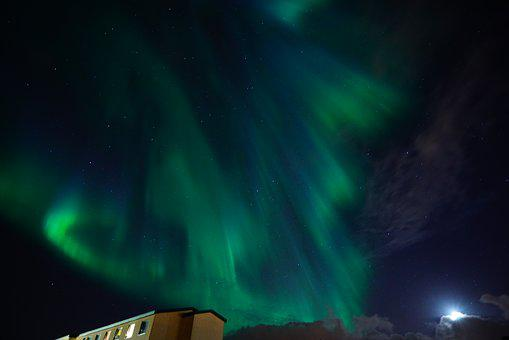 Aurora, Northern Lights, Light Phenomenon, Light, Green